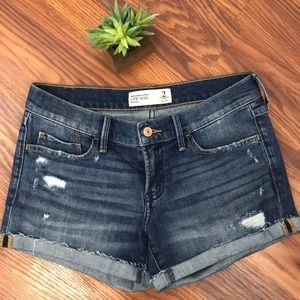 Abercrombie & Fitch Low Rise Jean Short